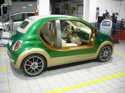 Fiat 500 Муаммара Каддафи