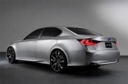 Lexus GS 2012 года