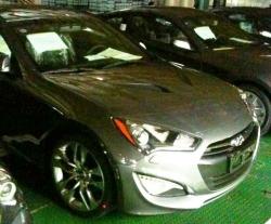 Рестайлинговый Hyundai Genesis Coupe 2012