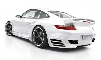 Суперспринтер Porsche 911 Turbo от ателье Techart